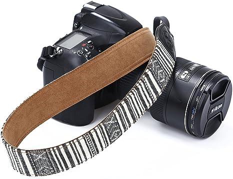 Vintage cámara de hombro correa de cuello Sling Cinturón para ...