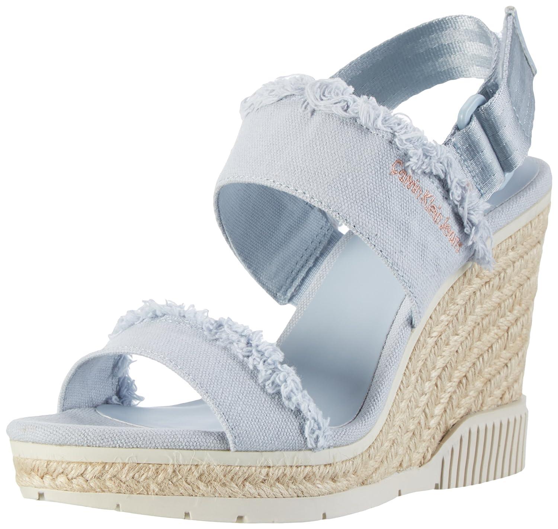 TALLA 39 EU. Calvin Klein Jeans R4056, Zapatos de Punta Descubierta Mujer