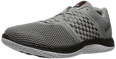 Reebok Men s Zprint Run Running Shoe Tin Grey/Shark/Silver Metallic/White