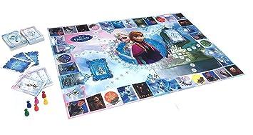 Media Wave Store 51019 Juegos de mesa Frozen interactivo a hasta 6 jugadores con aplicación: Amazon.es: Hogar