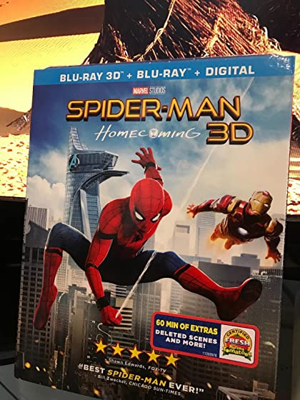 Spider-Man: Homecoming (Plus Bonus Content) Another Spiderman reboot, no problem you can never get enough Spiderman.
