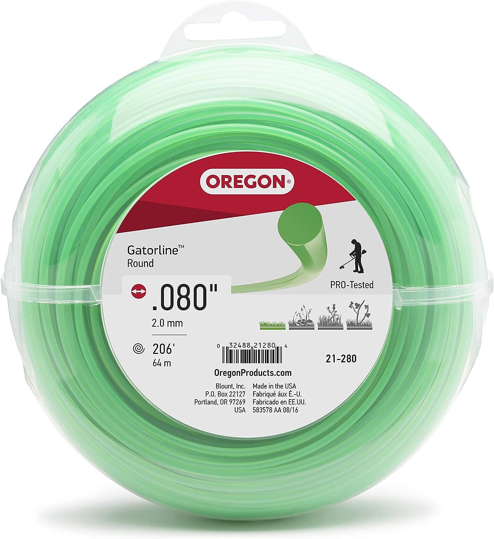 Oregon 69-174 Gatorline Round Trimmer Line .08-Inch by 50-Foot