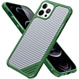 Arae Compatible with iPhone 12 Pro Max Case Military Grade Anti-Scrach Shock Absorbing Protection Durable Case 6.7 inch (Gree