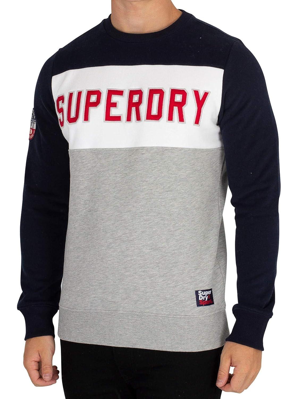 TALLA L. Superdry Academy Color, Jersey para Hombre