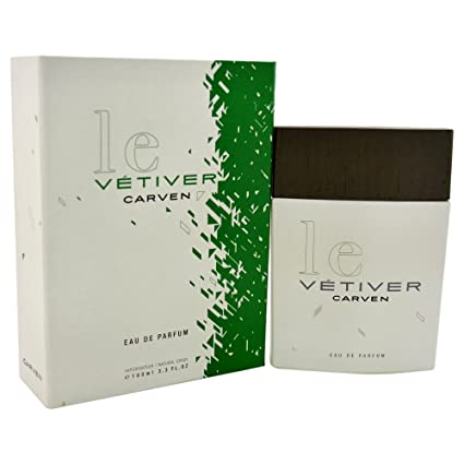 De Men 3oz Parfum Le Eau Carven Vetiver 100ml3 Spray Cologne 1lJTFKc3