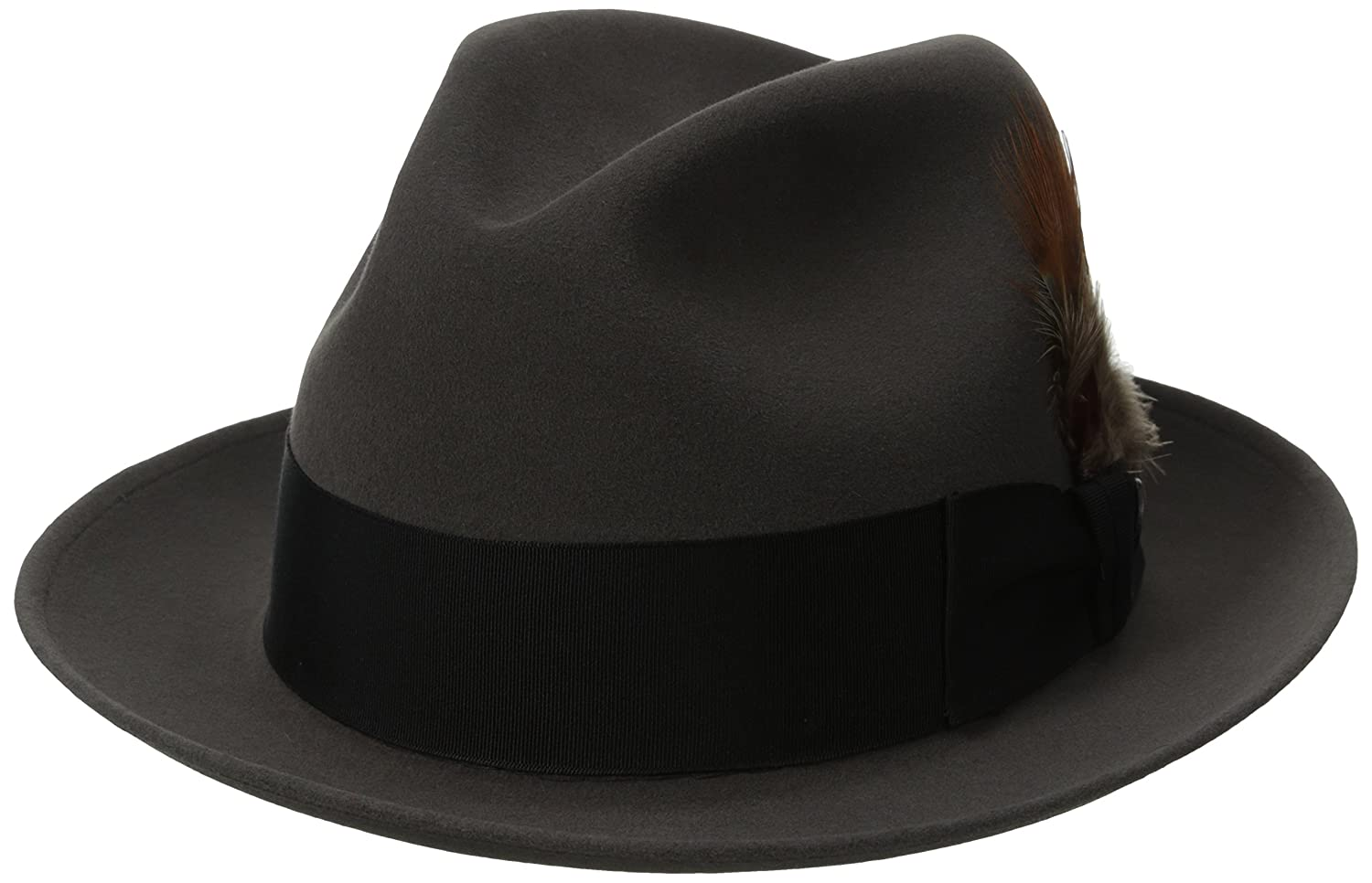 3d12fd698d335 Stetson Men s Saxon Royal Quality Fur Felt Hat at Amazon Men s Clothing  store