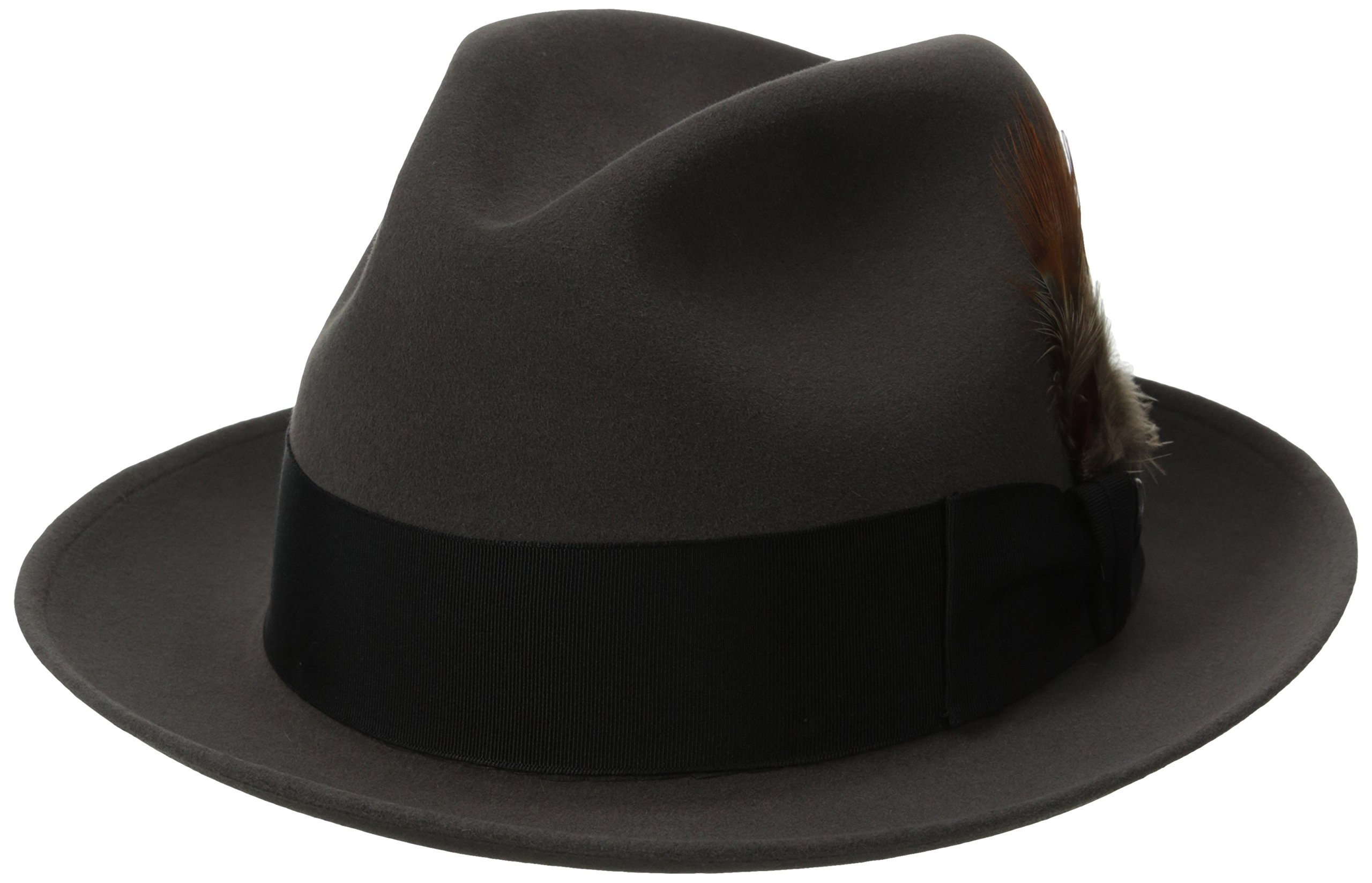 Stetson Men's Saxon Royal Quality Fur Felt Hat, Caribou, 7.125