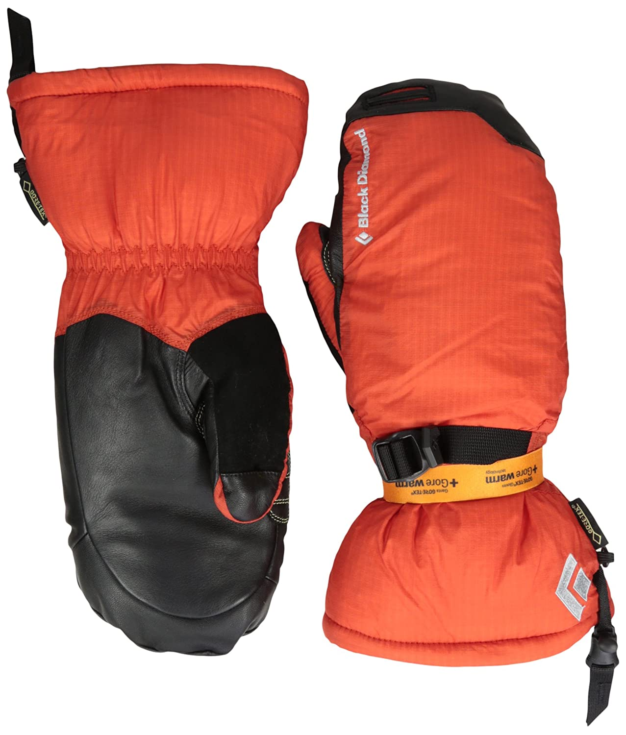 Schwarz Diamond Super Light Mitts mit Goretex
