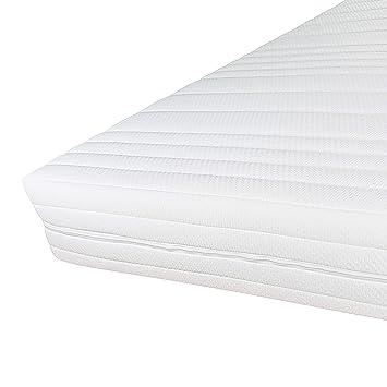 Hochwertiger Matratzenbezug 160x200cm Mit Reißverschluss Doppeltuch Mit Klimafaser Versteppt Allergiker Geeignet Bis 60 Grad Waschbar 160x200