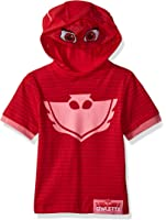 PJ MASKS Girls Owlette Hoodie and Hooded Tee