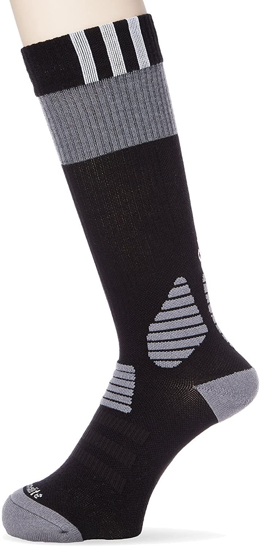 adidas ID Socks Comfort Calcetines, Unisex Adulto, Negro/Blanco/Gris, 5254