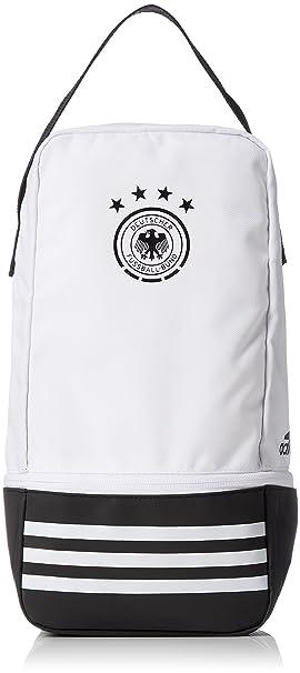 more photos 49a46 ef1ba adidas 2018-2019 Germany Shoe Bag (White), Clothing - Amazon
