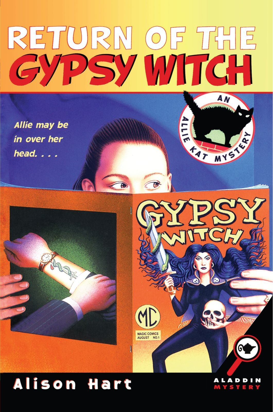 Return of the Gypsy Witch (An Allie Kat Mystery) pdf
