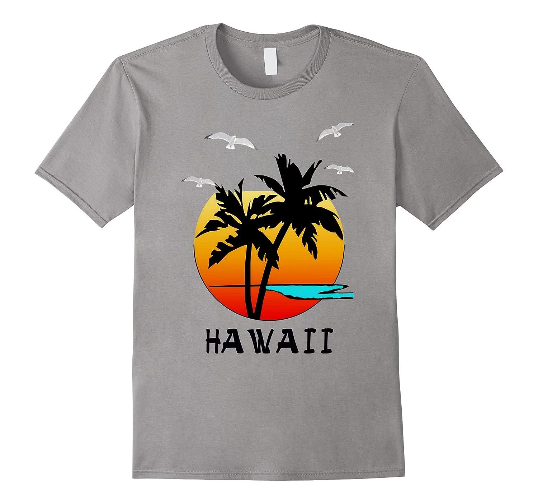 Hawaii beach destination vacation paradise t shirt gift for Hawaii souvenir t shirts