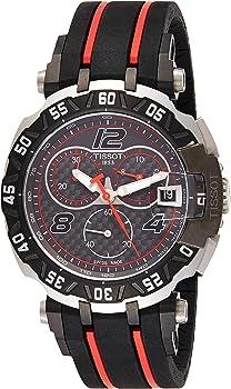 Tissot T-Race MotoGP Black Dial Chronograph Quartz Men's Watch