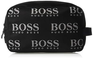 4777f80b80655 Amazon.com: BOSS Green Men's Logo, black, Iconic Nylon Vanity ...