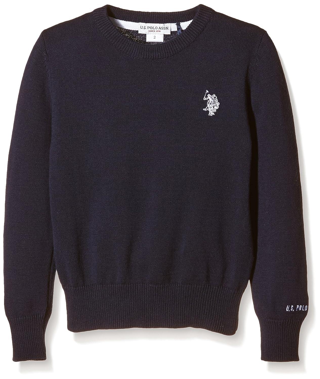 U.S. Polo Assn. - Pullover Dbl Horse R-Neck Knit, Unisex Bambino 32910