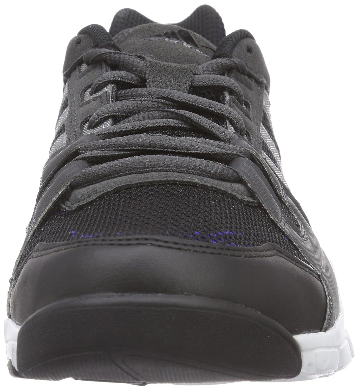 Adidas Gym Warrior - Zapatillas para Hombre, Color Negro (Core Black/Iron Met./Night Flash s15), Talla 43 1/3