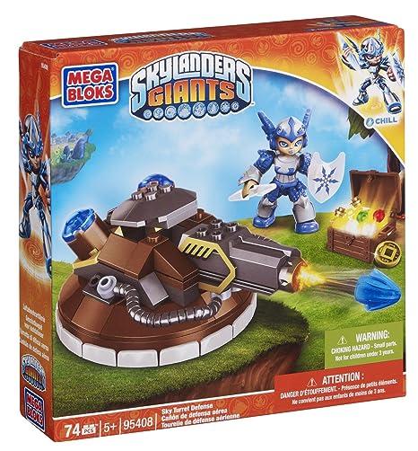 Mega Bloks Skylanders Giants 95408 Cañón de defensa aérea Chill