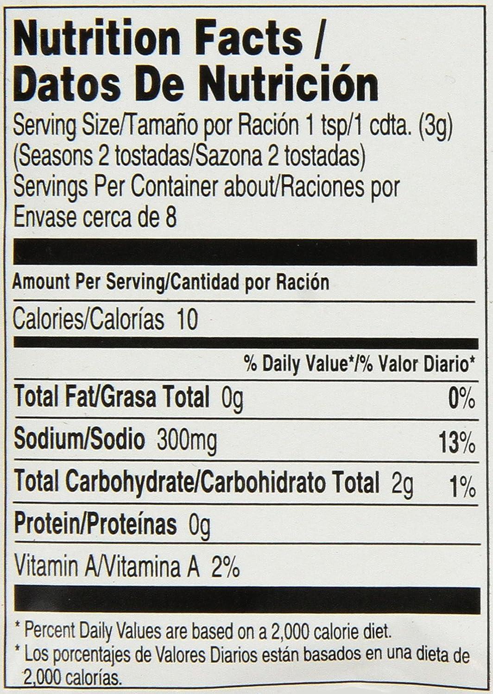 Amazon.com : McCormick Chicken Tinga Seasoning Mix, .87 OZ (Pack of ...