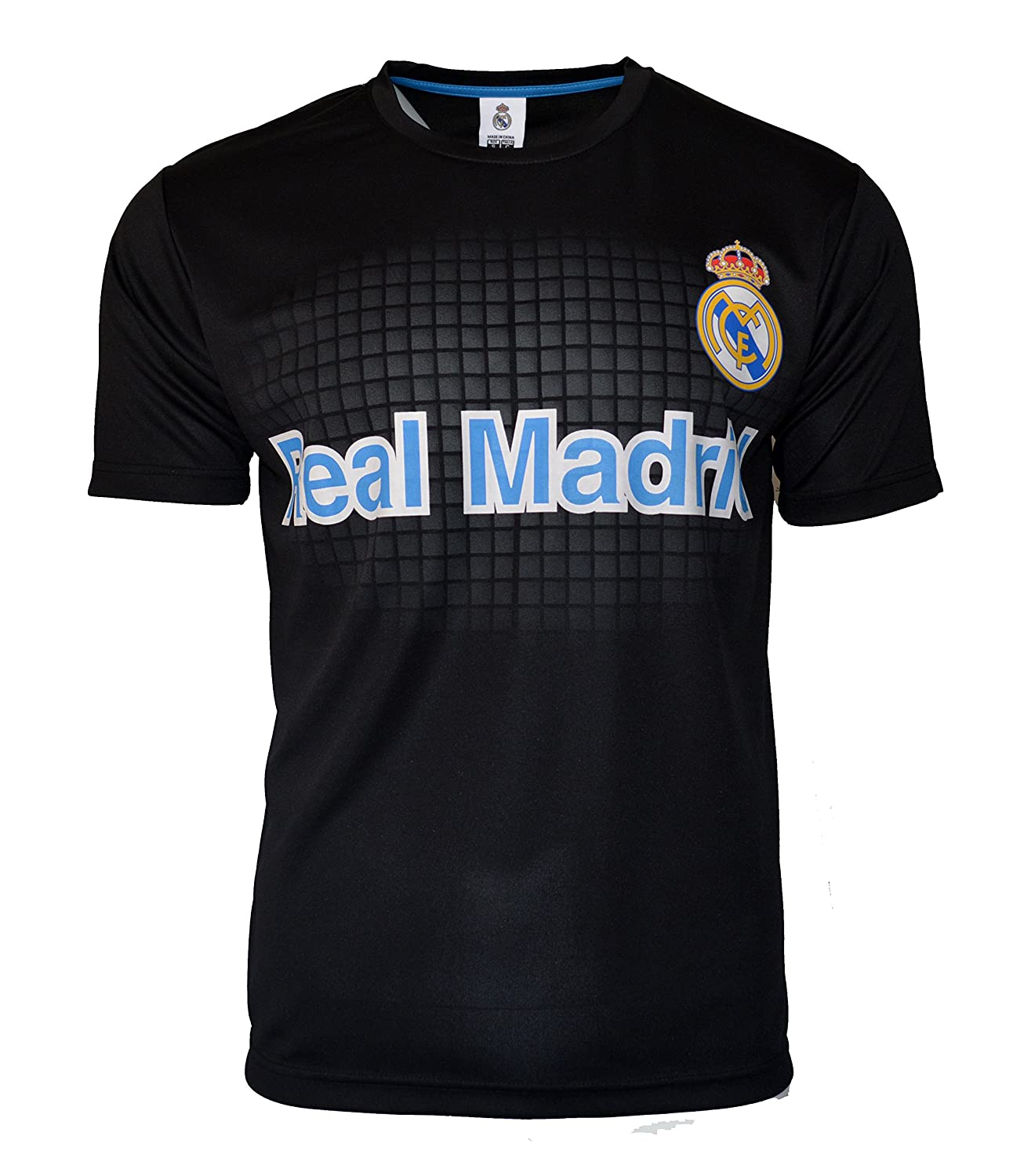 659fcf511 Amazon.com   Real Madrid Soccer Jersey Men s Adult Training Custom Name and  Number   Sports   Outdoors