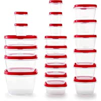 42-Piece Rubbermaid Easy Find Vented Lids Food Storage Container