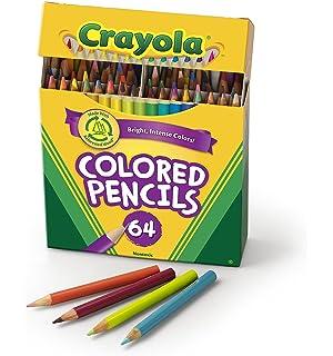 crayola colored pencils 64 count vibrant colors pre sharpened art tools - Crayola Colored Pencils Twistables