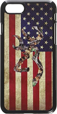 CAMO BROWNING Flag iphone case