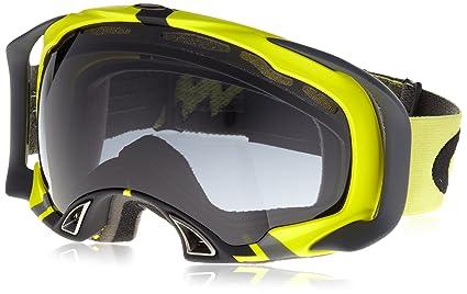 cef8cee914 Oakley Splice Adult Flight Series Snow Snowmobile Goggles Eyewear - Lime  Black Dark Grey