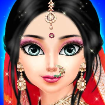 Amazon.com Indian Western Wedding Dress up and Make up