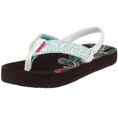 eab62527f95610 Reef Girls  Flip Flop Brown Size  1-1.5 UK  Amazon.co.uk  Shoes   Bags