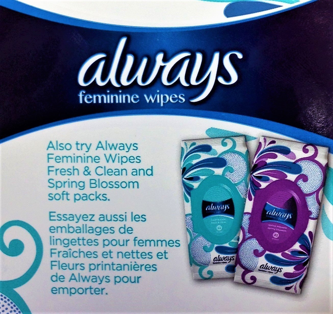 Amazon.com: Always - Feminine Wipes-to-Go Multipack - Pack of Three, 20 Count per Pack: Health & Personal Care