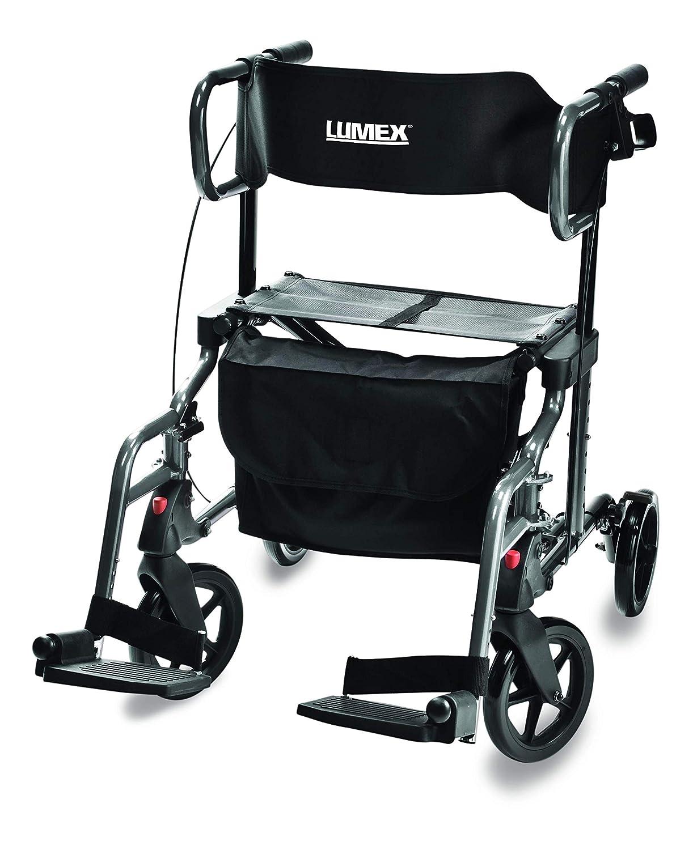 Lumiscope LX1000T Hybridlx Andador Rollator Silla: Amazon.es ...