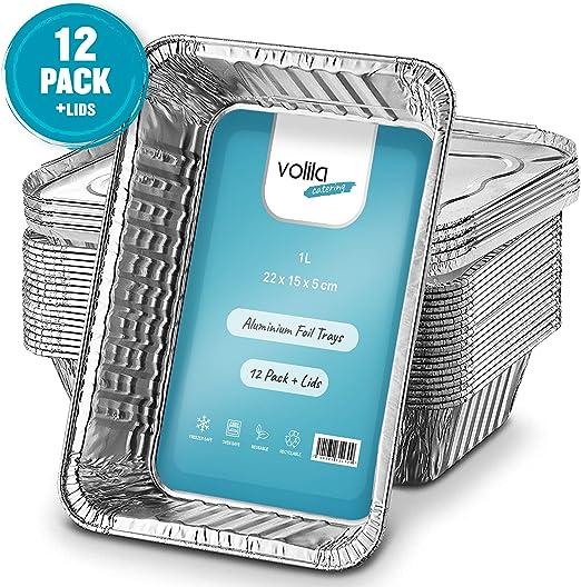 Bandejas De Papel Aluminio Desechables, Recipientes Para Llevar De ...