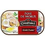 Connétable Foie de Morue Goût Fumé la Boîte de 121 g - Lot de 6