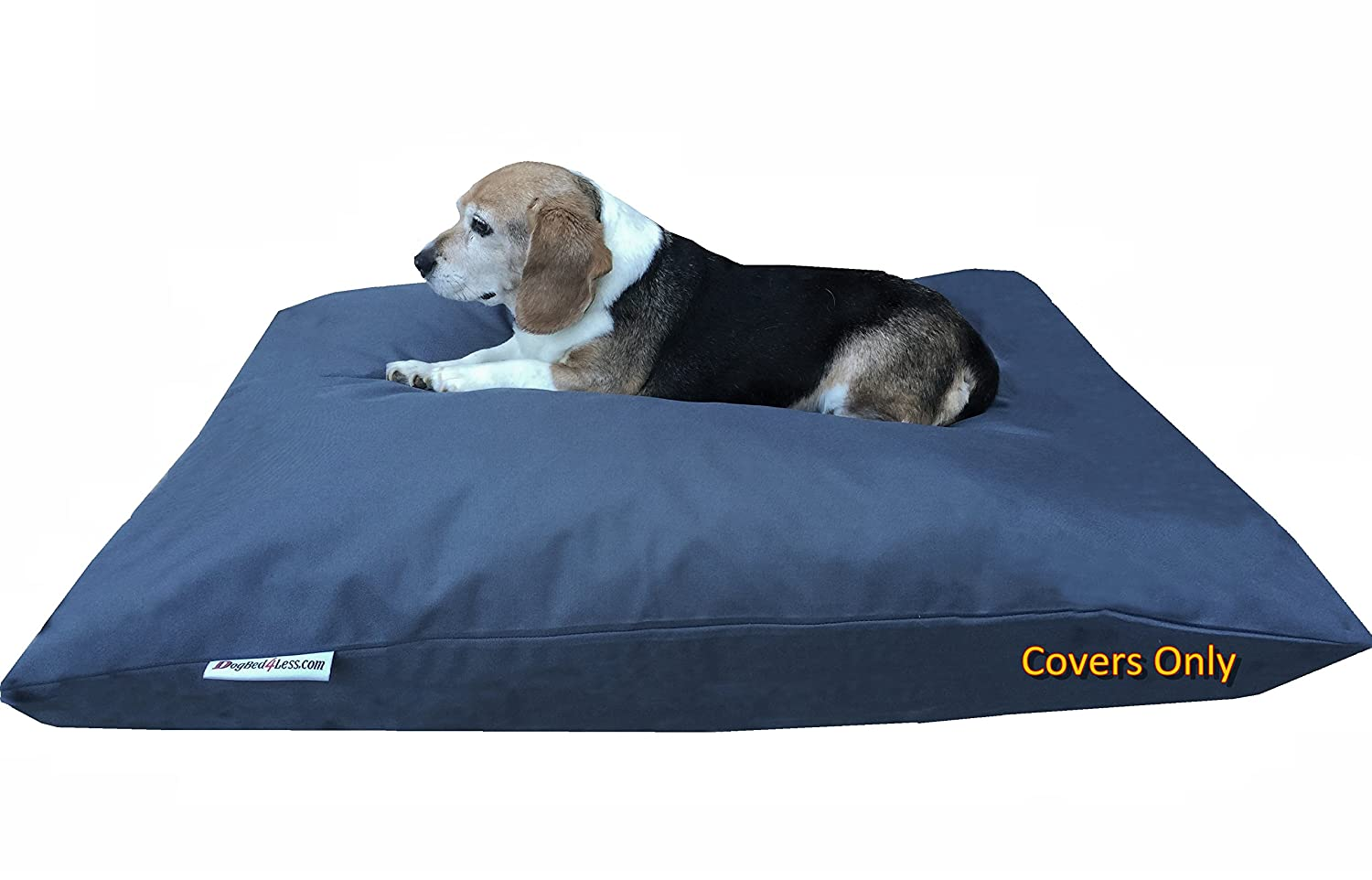 Oxford in Dark Slate 48\ Oxford in Dark Slate 48\ Dogbed4less Do It Yourself DIY Pet Bed Pillow Duvet Oxford Cover + Waterproof Internal case for Dog Cat at Large 48 X29  Dark Slate color Covers only