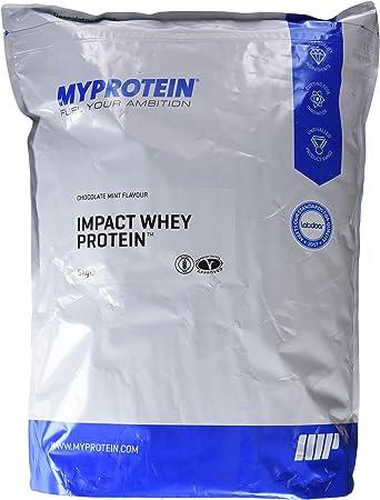 MyProtein Impact Whey Proteína de Suero, Sabor Chocolate con Menta - 5000 gr