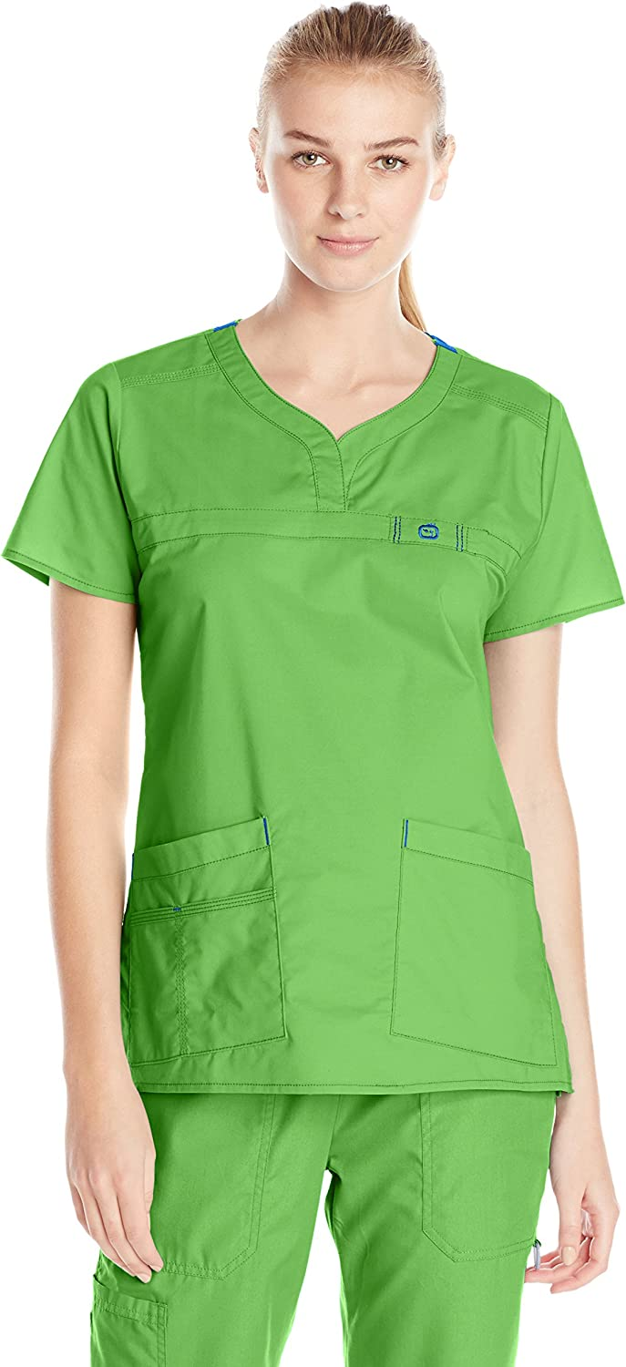 WonderWink Women's Wonderflex Patience Scrub Top