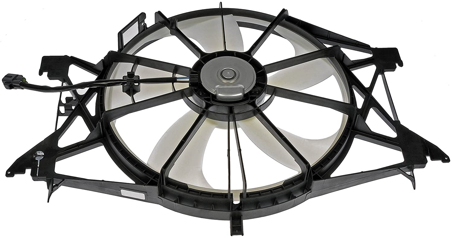Dorman Oe Solutions 620 060 Air Conditioning Condenser Flexalite Electric Fan Black Magic Series Coximportcom A Assembly Automotive