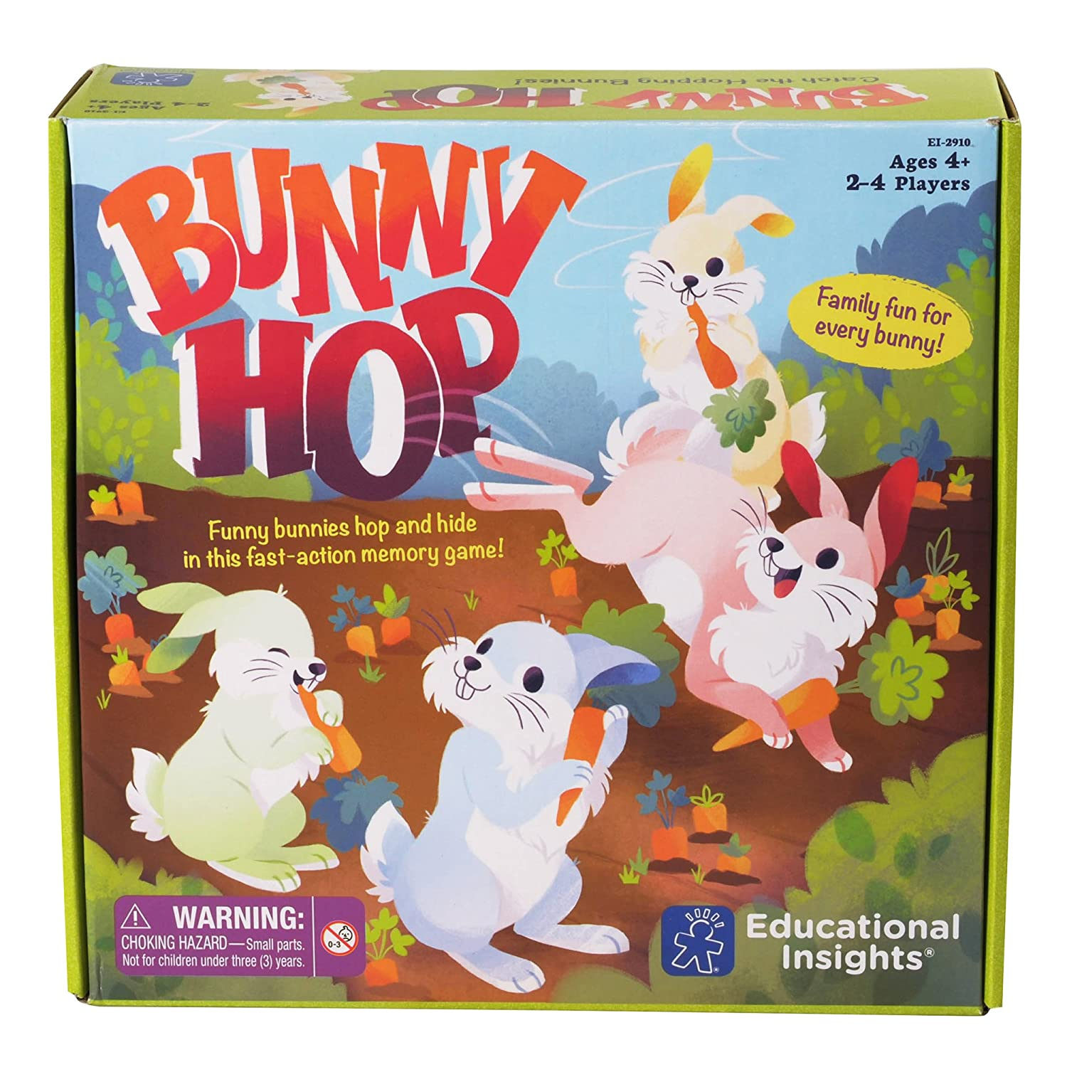 Educational Insights Bunny Hop Memory Game EI-2910