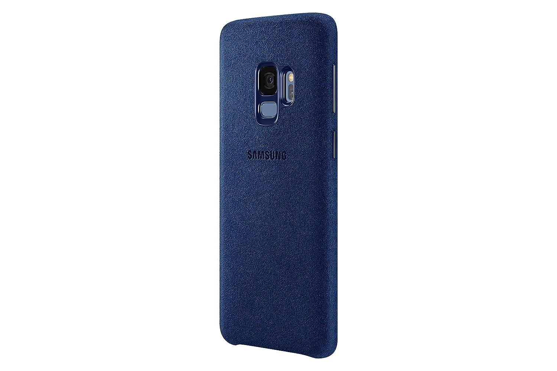 best service ec55a 8ce67 Samsung Galaxy S9 Alcantara Case, Blue