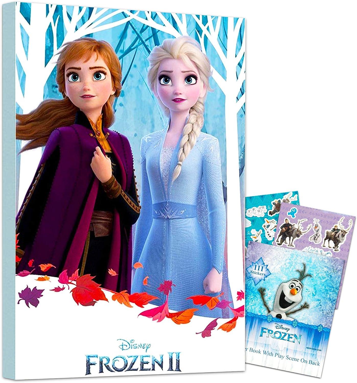 Amazon Com Disney Frozen 2 Poster Wall Art Set Mounted Frozen