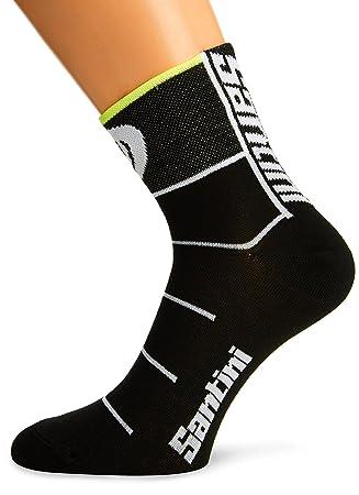 Santini Re651Max4 Uci Rainbow Fashion Line Coolmax Socks - Black ... 27fb1d886