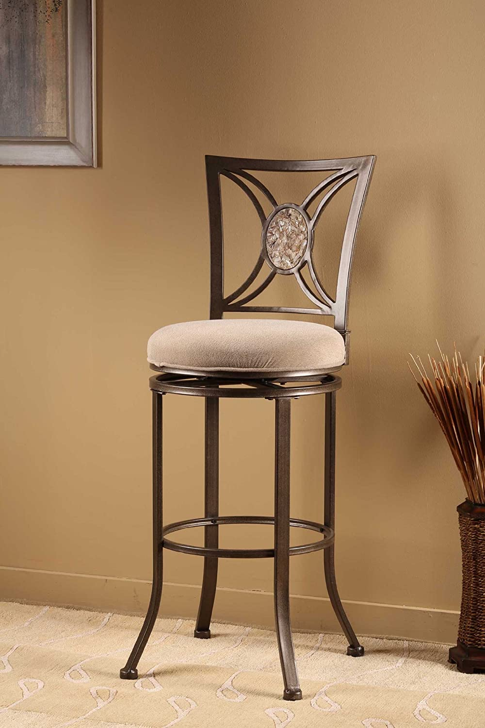 & Amazon.com: Swivel Stool (26 in. Counter Height): Kitchen u0026 Dining islam-shia.org