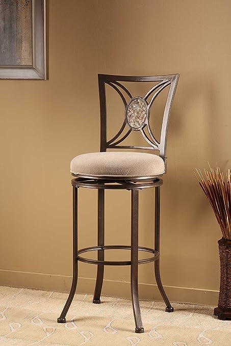 Amazon Com Hillsdale Furniture Swivel Stool 30 In Bar Height