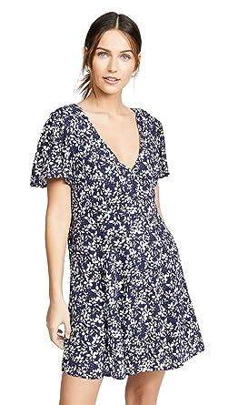 d1ea34dca677 MINKPINK Women's Wild Jasmine Tea Dress, Multi, X-Small at Amazon ...