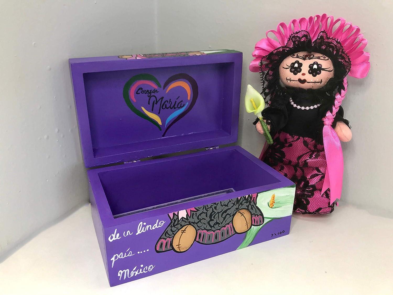 Otomi rag doll Mar/ía Catrina special edition