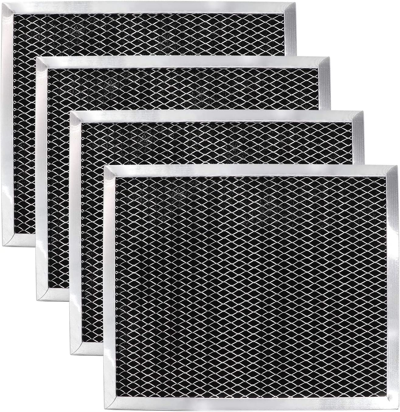 Primeswift Range Hood Charcoal Filter 97007696 Grease Filter (4 PK),Replacement for 832546,AP3140283,WB02X8253