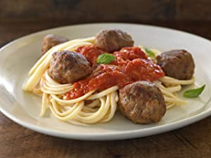 Bonici Fully Cooked Oven Roasted Italian Style Pork and Beef Meatballs (2 - 5 lbs. bags)