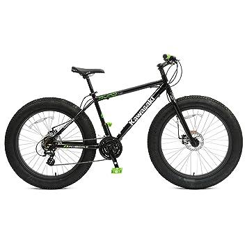 Amazon.com : Kawasaki Sumo Fat Tire Bike, 26 x 4 inch Wheels, 18.5 ...